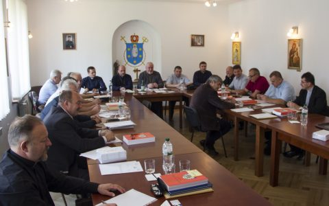 Відбулися збори протопресвітерів Стрийської єпархії