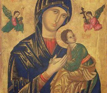 Декрет проголошення служби свята Матері Божої Неустанної Помочі