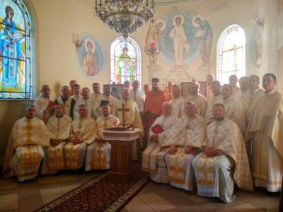 Реколекції для священиків Стрийської єпархії у с. Береги Пустомитівського району