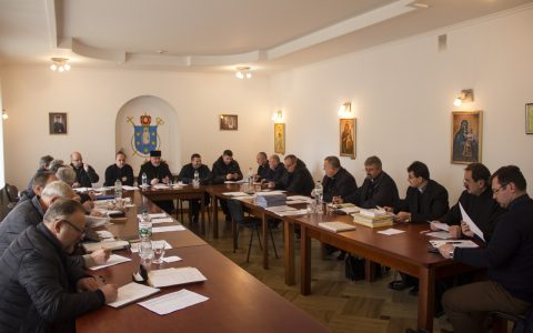 Чергові збори протопресвітерів Стрийської єпархії