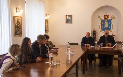Зустріч єпископів з депутатами Стрийської міської та районної рад