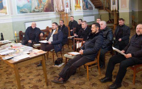 Катехитичний семінар для священиків Унівського деканату