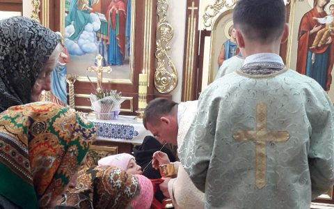 Молитва за дітей-сиріт у с. Підгірці