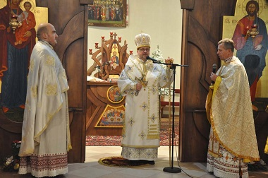 На Різдво владика Богдан молився у храмі Всіх святих українського народу у Стрию