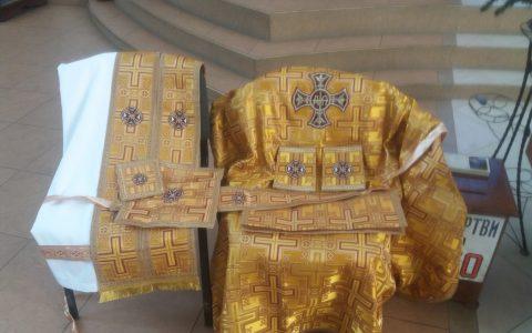 Нові богослужбові ризи для військових капеланів
