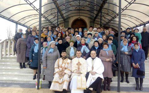 Великопосні реколекції для спільнот «Матері в молитві» Стрийського району
