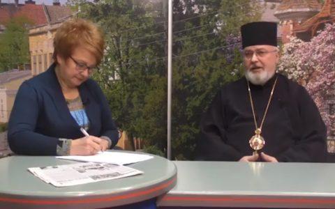 """Про хрест, відповідальність та вміння бути українцем і християнином – владика Тарас в ефірі програми """"Персона"""" [Відео]"""