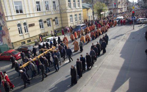 Вулицями міста Стрия пройшла молитовна Хресна хода