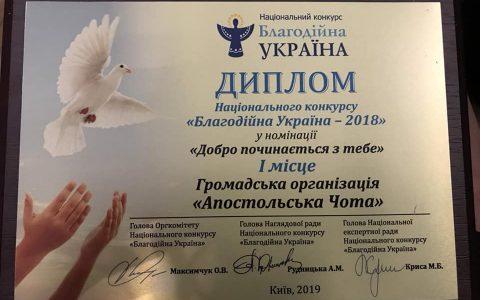 Священик з Городка та його юні помічники стали переможцями у Національному конкурсі «Благодійна Україна»