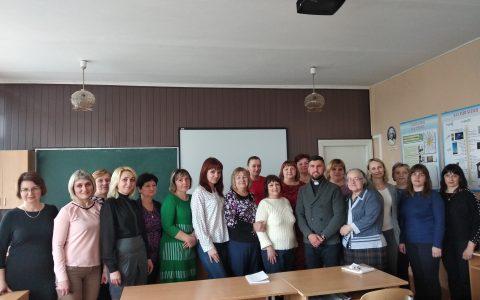 Духовна віднова педагогів та зустріч зі старшокласниками в Перемишлянах