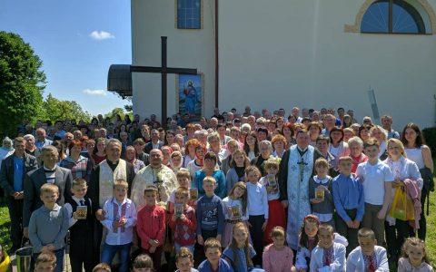 Свята місія у с. Любинці на Стрийщині