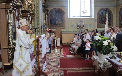 Владика Богдан відвідав парафію Воскресіння Господнього у Жидачеві