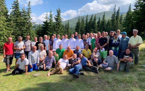 Представники Стрийської єпархії взяли участь у християнському таборі для чоловіків
