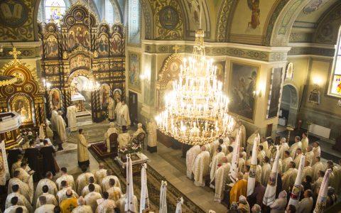 У Стрию молитовно вшанували святого апостола Якова – покровителя Стрийської єпархії