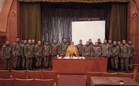 Військові подякували Богові за рік, що минає