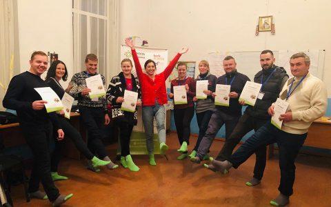 Парафіяни з Трибоківців та Квітневого вчилися проєктного менеджменту у «Школі відповідального служіння»