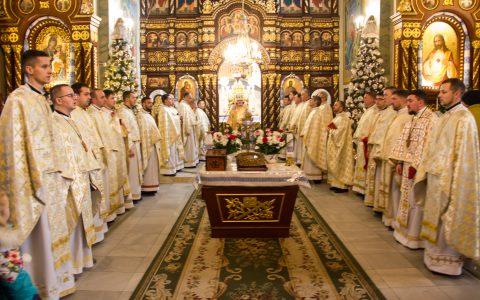 Священники деканату м. Стрий подякували Богові за прожитий рік