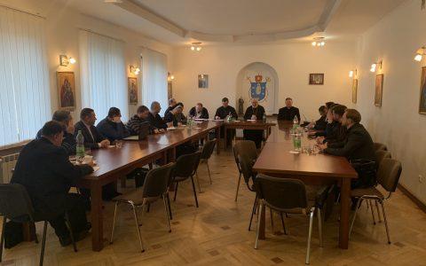 У Стрию відбулись збори членів Товариства українських каноністів