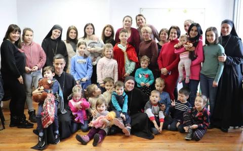 Парафіяльний табір «Матері та дитини» провели у Брюховичах