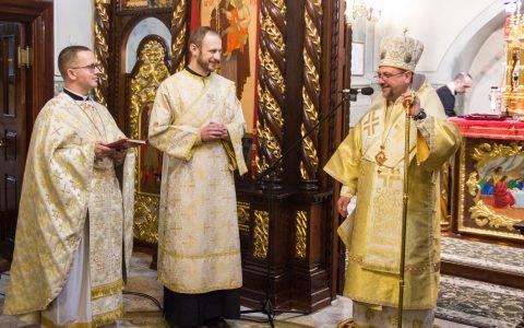 Архиєрейська Літургія та дияконські свячення у катедральному храмі