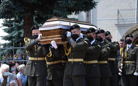 У Жидачеві поховали Героя України
