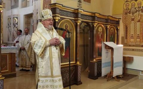 «Святі українського народу є дороговказом і прикладом на нашій дорозі до неба», – владика Тарас у Перемишлянах