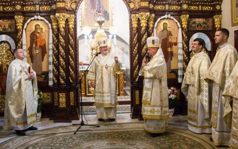 У Стрийській єпархії молитовно відзначили ювілей владики Тараса