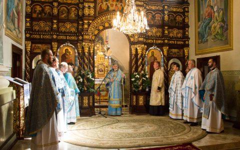 У катедральному храмі Успіння Пресвятої Богородиці відсвяткували престольний празник