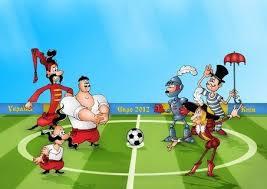 Як священники у футбол грали