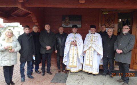 У Верчанах освятили меморіальну дошку о. Михайлу Ференцу