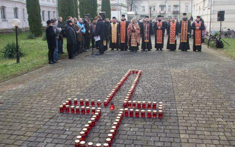«Пам'ятаємо і молимось», – у Стрию вшанували пам'ять жертв Голодомору