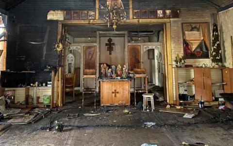 У Стрию згорів храм – священники просять про допомогу