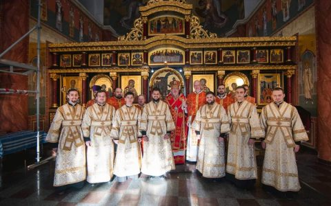 Владика Тарас уділив нижчі та піддияконські свячення семінаристам Стрийської єпархії