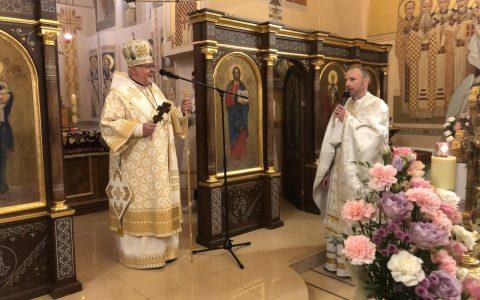 Владика Тарас у Світлий Понеділок: «Присутність Воскреслого Христа об'являється у найбільш несподіваних моментах»