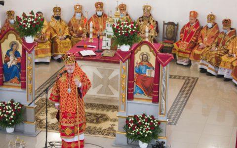 «Сьогодні її материнство долає межу родини і стає багатством для цілої Церкви», – владика Тарас на похороні Віри Шевчук