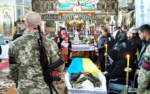 Стрийщина попрощалась з захисником України