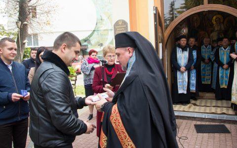 Військових капеланів Стрийщини нагородили відзнакою ім. о. Андрія Бандери