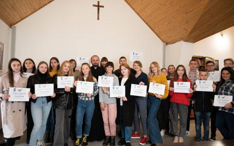 Завершилась школа відповідальної журналістики при катедральному храмі